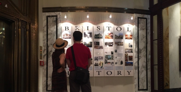 PoH — Wall of History Hotel Bristol Vienna
